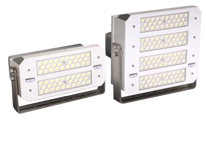 Polarlight LED floodlights